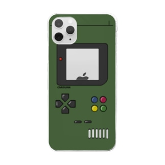ChRiSUMA GAME ADDICTION army green Clear smartphone cases