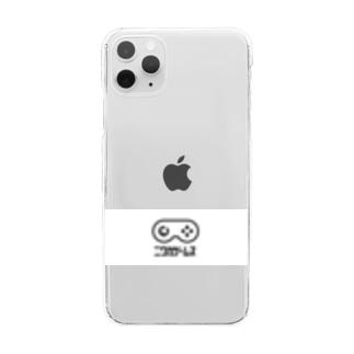 NIWAKA白帯スマホケース Clear smartphone cases