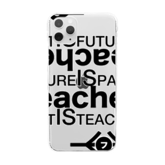 past is future.2 Clear smartphone cases