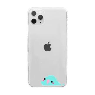 鳥スライム / マメルリハ Clear smartphone cases