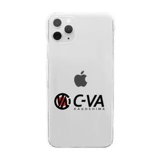 C-VA KAGOSHIMA SHOPのC-VAクリアスマホケース Clear smartphone cases