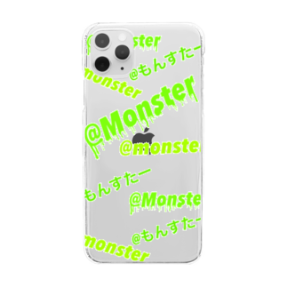 @Monsterの@Monster Clear smartphone cases