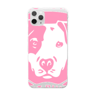 JOKERS FACTORYのPIT BULL Clear smartphone cases
