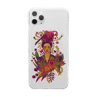 Frida Clear smartphone cases