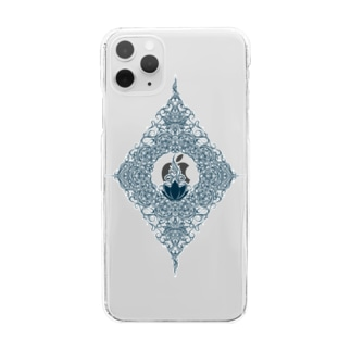 lotus Clear smartphone cases