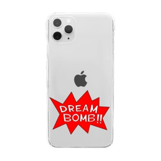 DREAM BOMB!! ユメノバクダン Clear smartphone cases