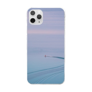 【Boat】 Clear smartphone cases
