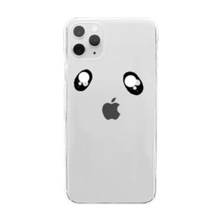 teyalonのぴえん Clear smartphone cases