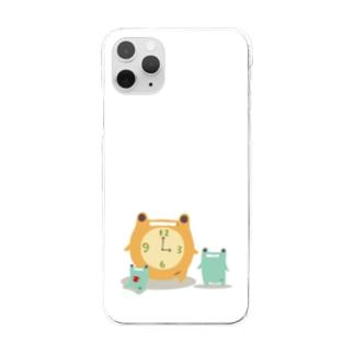 時計のがえる Clear smartphone cases