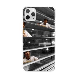 よすよすよーす。 Clear smartphone cases