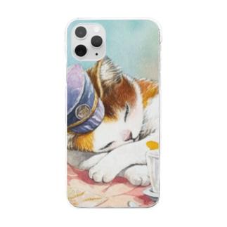 まなつ&まふゆのお休み 😼 case  Clear smartphone cases