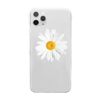 daisy flower Clear smartphone cases