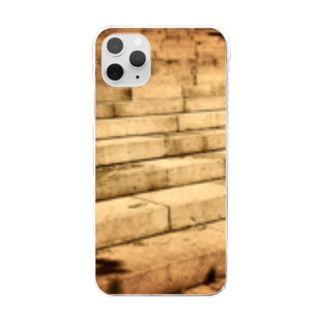 Stone steps Clear smartphone cases