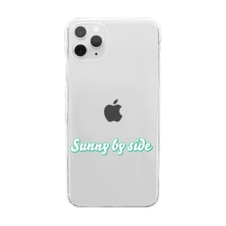 Sunny by side Clear smartphone cases