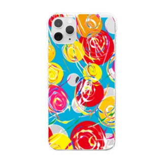 yo-yo Clear smartphone cases