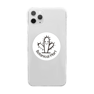 ボタニカルマートのボタニカルマート Clear Smartphone Case