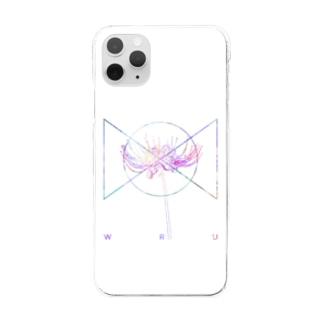 彼岸花R.C.T Clear smartphone cases