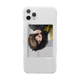mimosa. Clear smartphone cases