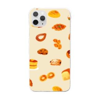 パンパカパーン! Clear smartphone cases