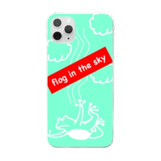 flog in the sky Clear smartphone cases