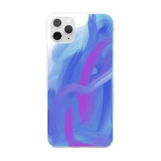 重なり Clear smartphone cases