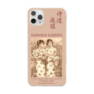 タピオカレンズ-1922セピア- Clear smartphone cases
