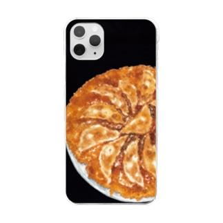 焼餃子 Clear smartphone cases