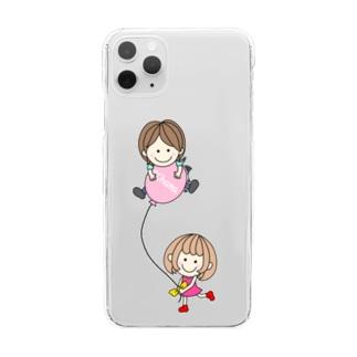 CHAMA×風船 Clear Smartphone Case