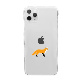 FOX Clear smartphone cases