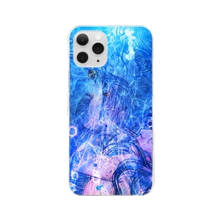 し ず め - t10 Clear smartphone cases