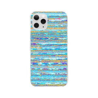 Flexible stripe 10 Clear smartphone cases