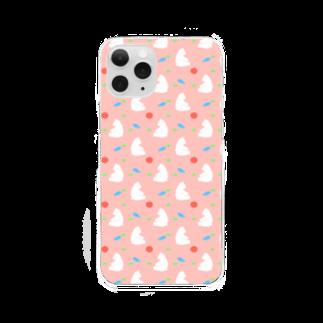 Nico Rab.のしろくま Clear smartphone cases