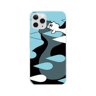 Girl RAIN Clear smartphone cases