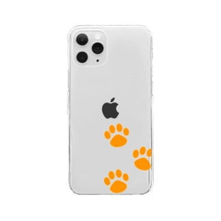 DOG STAMPS Clear smartphone cases