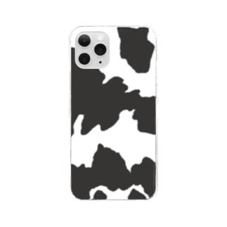 牛柄 Clear smartphone cases