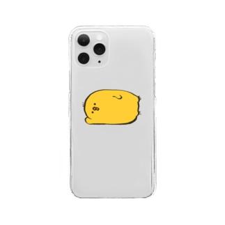 ねそべりひよこ🐥 Clear smartphone cases