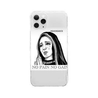 祈り Clear smartphone cases