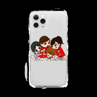 miccolo3のわちゃわちゃ Clear smartphone cases