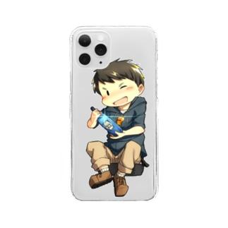 チカッパくん Clear smartphone cases