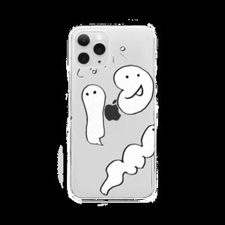 さくら まい*のぐるっパ Clear smartphone cases
