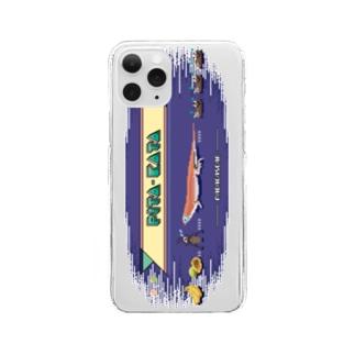 8bit ぴこぴこピタカタ Clear smartphone cases