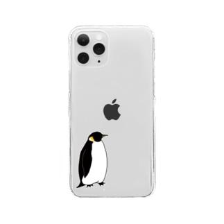 コウテイペンギン Clear smartphone cases