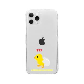 ぴよ子ちゃん Clear smartphone cases