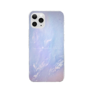 くしゃくしゃクリア Clear smartphone cases