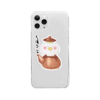 河童書房〜ええ湯かげんでどないしょ〜 Clear smartphone cases