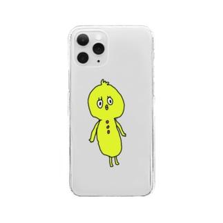 トリッキー Clear smartphone cases