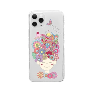 An Almost Flower Girl Clear smartphone cases
