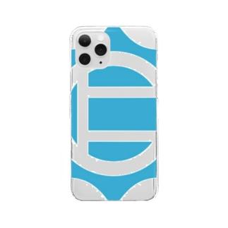 仁志路島ロゴグッズ Clear Smartphone Case