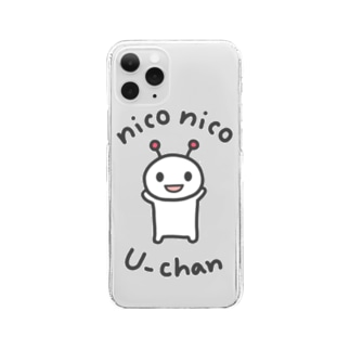 niconico U-chan / ニコニコうーちゃん Clear smartphone cases