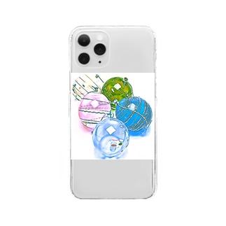 昭和の思い出 『ヨーヨー』 Clear smartphone cases